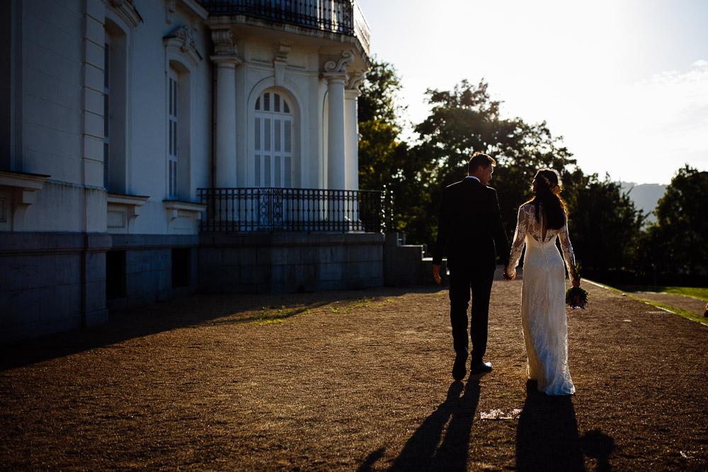 reportaje bodas Donostia. Boda en el palacio de Aiete de Donostia