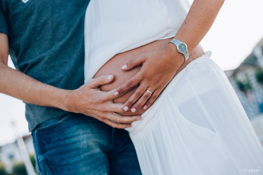 Fotógrafa reportaje embarazo donostia