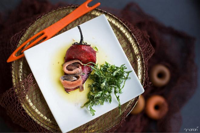 Fotografía de comida en restaurante Gipuzkoa