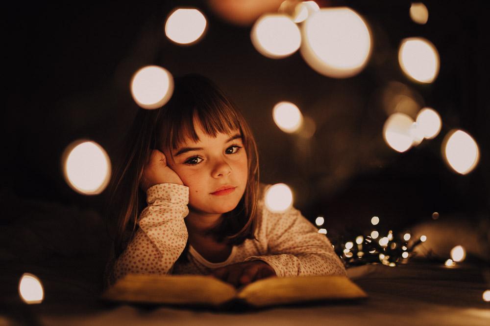 Reportaje infantil de Navidad