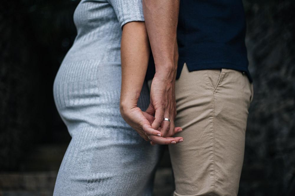 Reportaje de embarazo en Hendaia