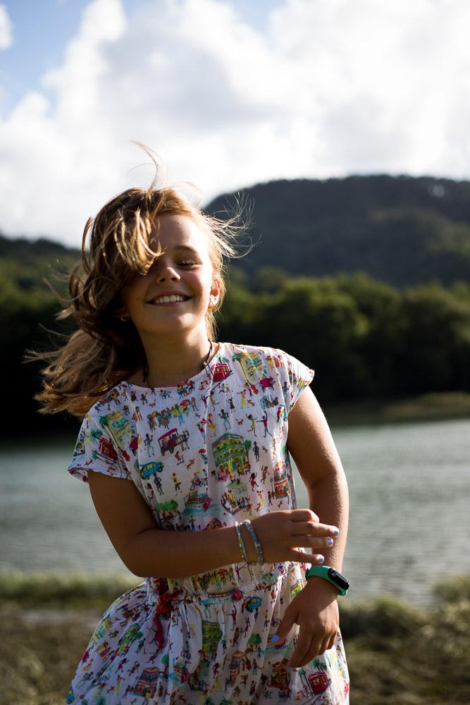 Reportaje infantil en Donostia