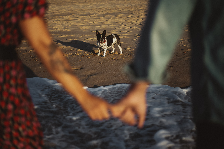 Reportaje de preboda en la playa
