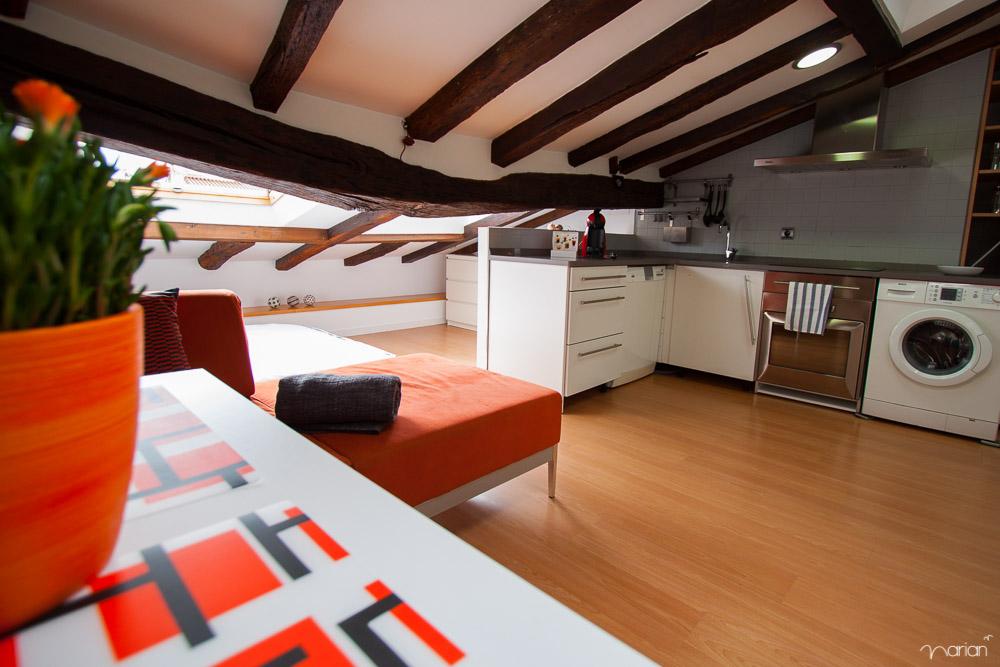 Fotografía apartamentos. Gipuzkoa