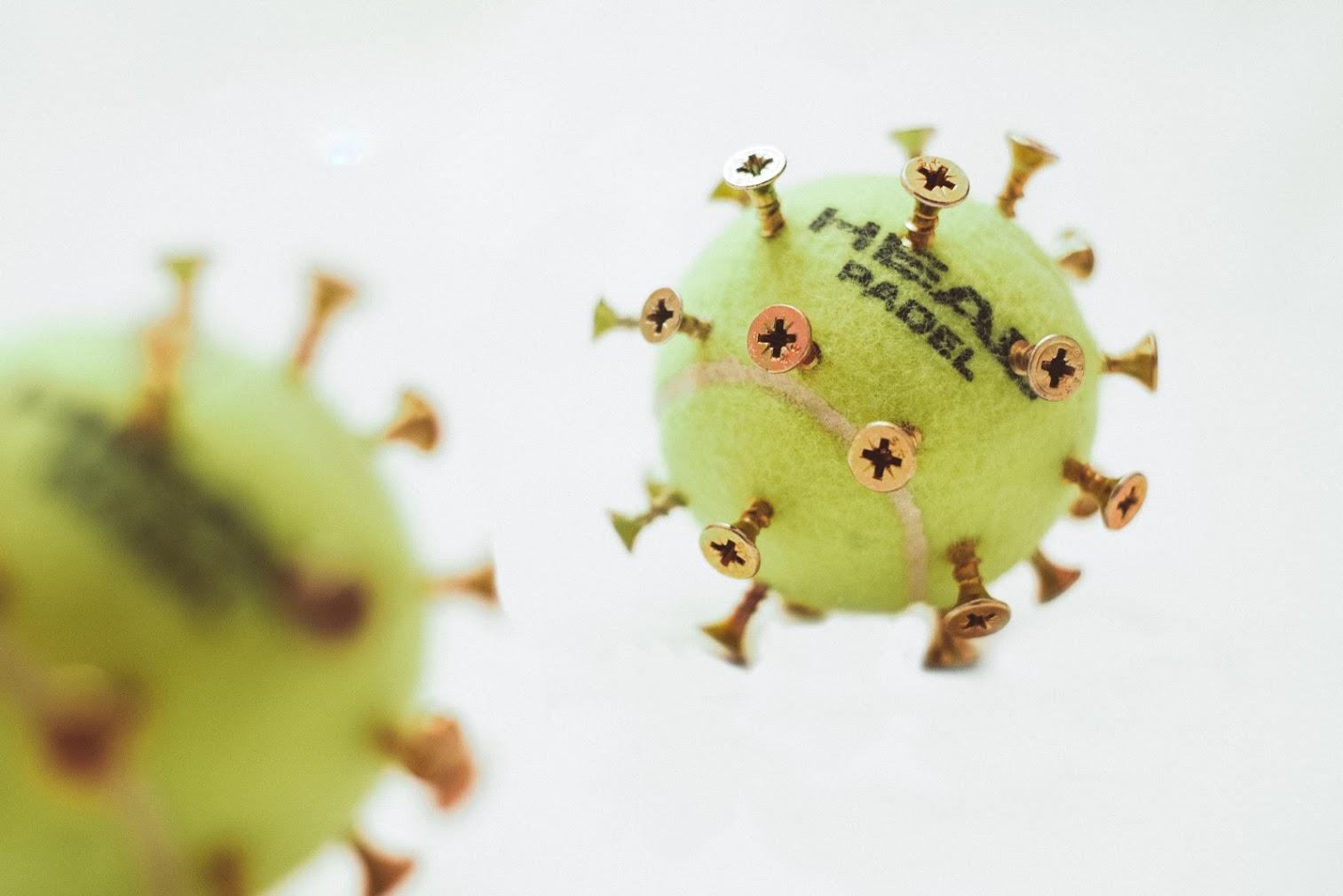 Foto creativa coronavirus